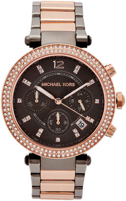 Michael Kors MK6440 Two-Tone Parker Watch