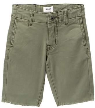 Hudson Raw Hem Sateen Chino Shorts (Toddler & Little Boys)