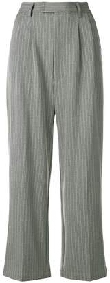 PAM pinstripe wide leg trousers