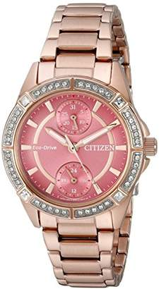 Citizen Drive from Eco-Drive Women's Watch with Swarovski Crystal Accents