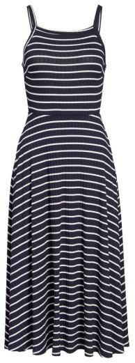 Women's Lush High Neck Knit Midi Dress 3