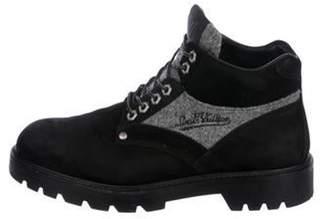 Louis Vuitton 2016 Nubuck Ankle Boots black 2016 Nubuck Ankle Boots