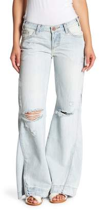 One Teaspoon Johnnies Flare Jeans