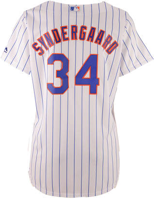 Majestic Women's Noah Syndergaard New York Mets Cool Base Player Replica Jersey