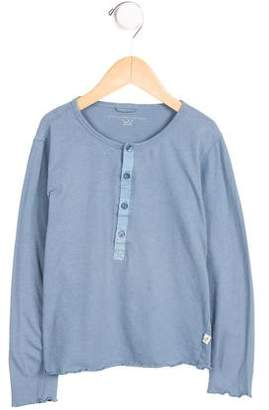 Stella McCartney Girls' Long Sleeve Button-Up Top