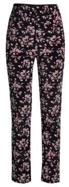 Rebecca Taylor Tilda Velvet Floral Pants