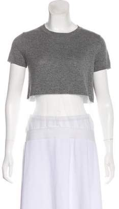 Marc Jacobs Wool-Blend Short Sleeve Top