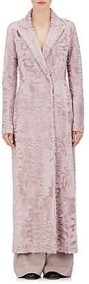 The Row Women's Heiden Lamb Fur Coat