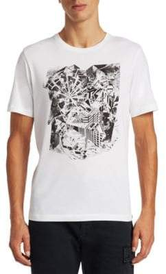 Saks Fifth Avenue x Anthony Davis Abstract Graphic Tee