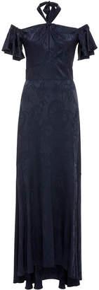 Temperley London Orbit Off-The-Shoulder Dress