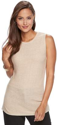 Dana Buchman Women's Sleeveless Sweater