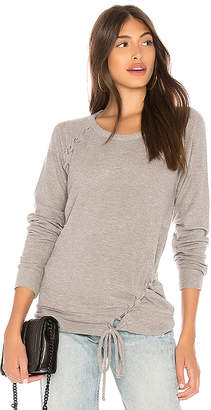 Chaser Love Knit Raglan Sweatshirt