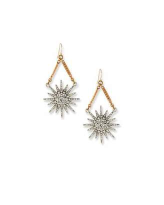 Lulu Frost Radiant Crystal Statement Earrings $225 thestylecure.com