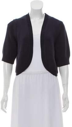 Michael Kors Cropped Knit Cardigan