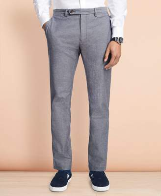 Brooks Brothers Slim-Fit Herringbone Twill Chinos
