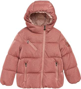 Moncler Taurua Sparkle Down Insulated Hooded Jacket
