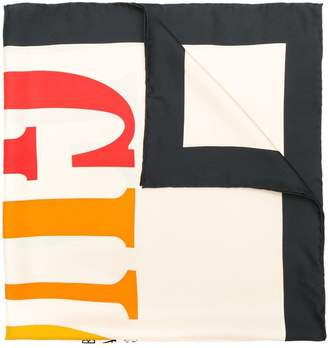 Gucci cities print scarf