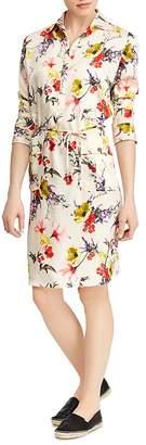 Lauren Ralph Lauren Floral Print Shirt Dress