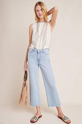 Paige Nellie High-Rise Culotte Jeans