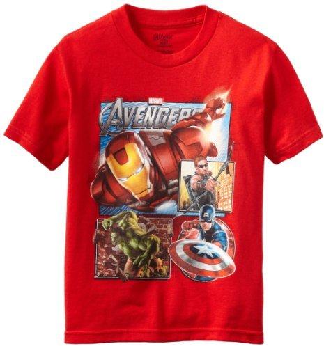 Iron Man Ironman Boys 8-20 Iron Avenger Tee
