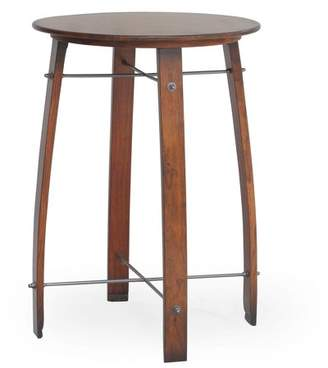 Carolina Forge Carolina Chair and Table Palmer Barrel Round Pub Table