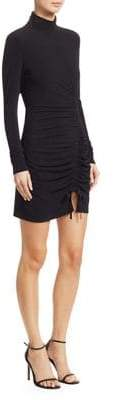 Cinq à Sept Alina Jersey Long-Sleeve Ruched Bodycon Dress