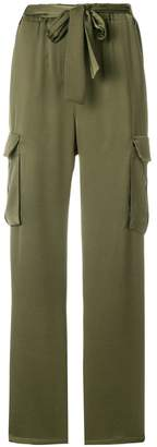 Pinko cargo straight trousers