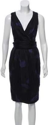 Marc Jacobs Printed Sleeveless Dress
