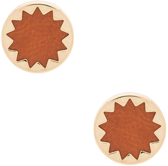 House of Harlow Engraved Sunburst Stud Earrings $28 thestylecure.com