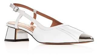 Marni Women's Slingback Block-Heel Sandals