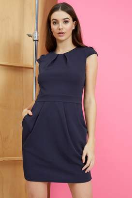 bb0ac6371552 Next Womens Mela London Capped Sleeve Tulip Dress