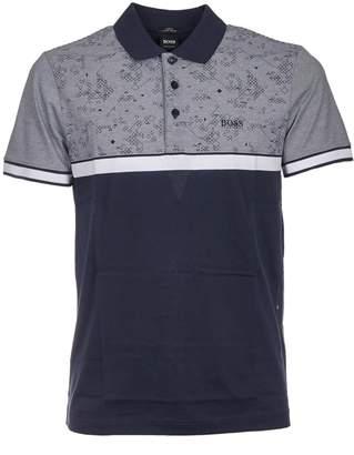 HUGO BOSS Patterned Polo Shirt