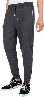 The Kooples Zip Moto Regular Fit Sweatpants
