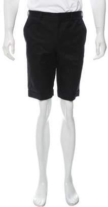 Balenciaga Flat Front Shorts