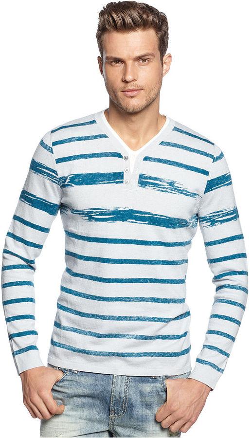 INC International Concepts Sweater, Slim Boys Club Sweater
