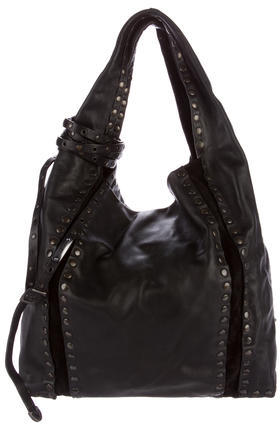 Jimmy Choo Jimmy Choo Studded Saba Hobo