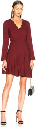 3.1 Phillip Lim Long Sleeve Ruffle Dress