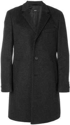 HUGO BOSS mid-length button coat