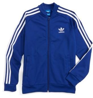 Boy's Adidas Superstar Track Jacket $45 thestylecure.com