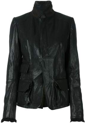 Haider Ackermann leather jacket