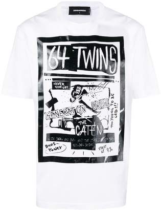 DSQUARED2 64 Twins T-shirt
