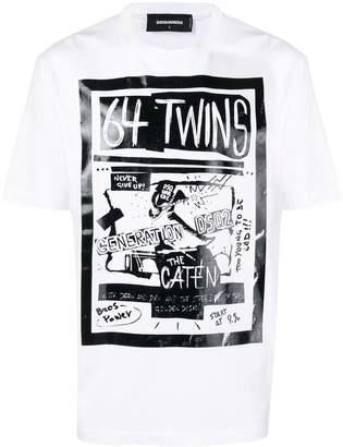 DSQUARED2 64 Twins T-shirt