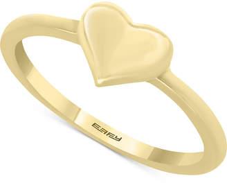 Effy Kidz Children's Polished Heart Ring in 14k Gold