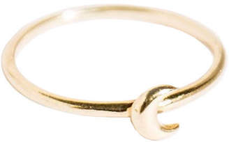 Amarilo Crescent Moon Ring