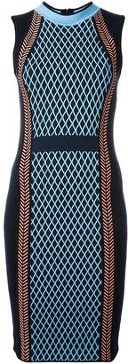 Versace runway knit sport dress $1,403 thestylecure.com
