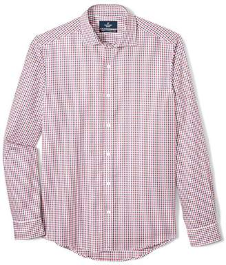 Buttoned Down Men's Tailored Fit Supima Cotton Button-Collar Sport Shirt