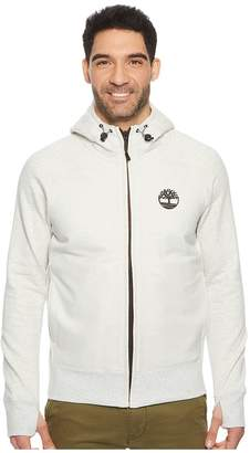 Timberland Weir River Full Zip Mixed Media Hoodie Men's Sweatshirt