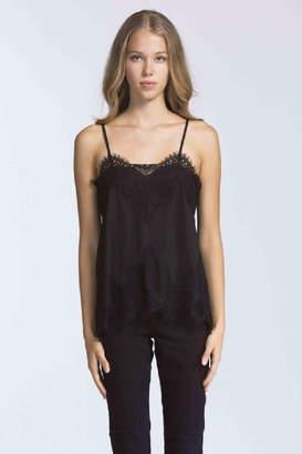 Storia Black Lace Cami Top