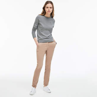 Lacoste Women's Regular Fit Pleated Pants