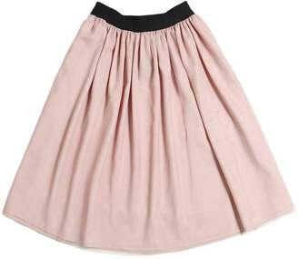 Stretch Tulle Midi Skirt